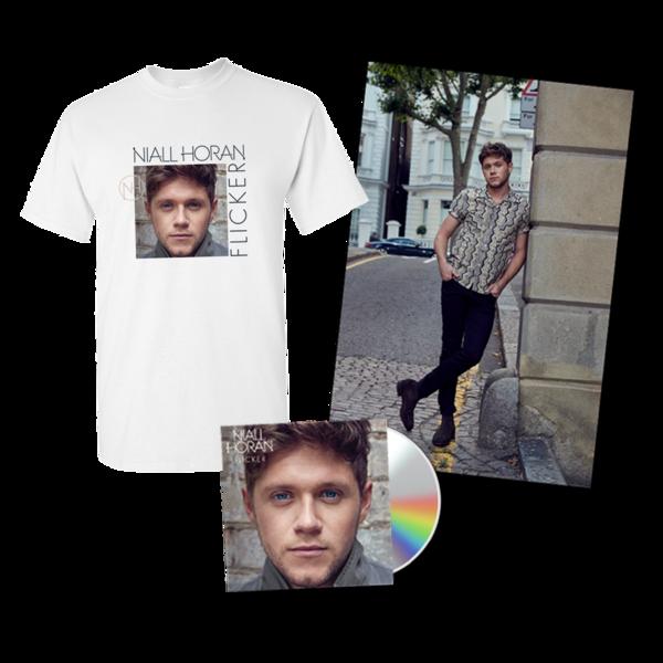 Niall Horan: Deluxe CD, Album T-Shirt, Poster & 3 IG Tracks