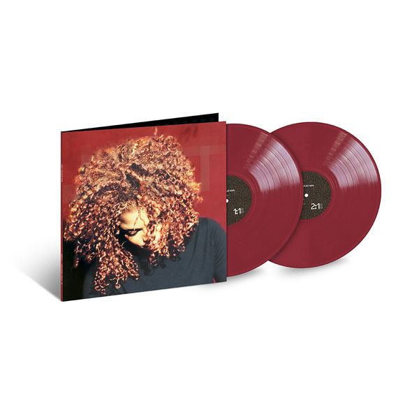 Janet Jackson: The Velvet Rope: Exclusive Deep Red Coloured Vinyl
