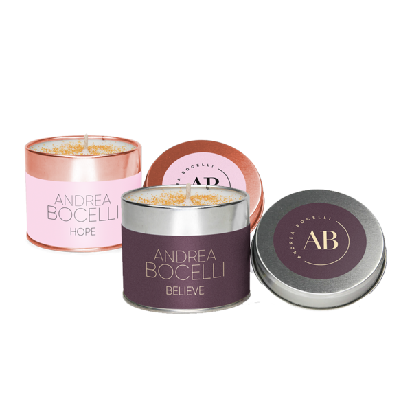 Andrea Bocelli: Scented candle bundle