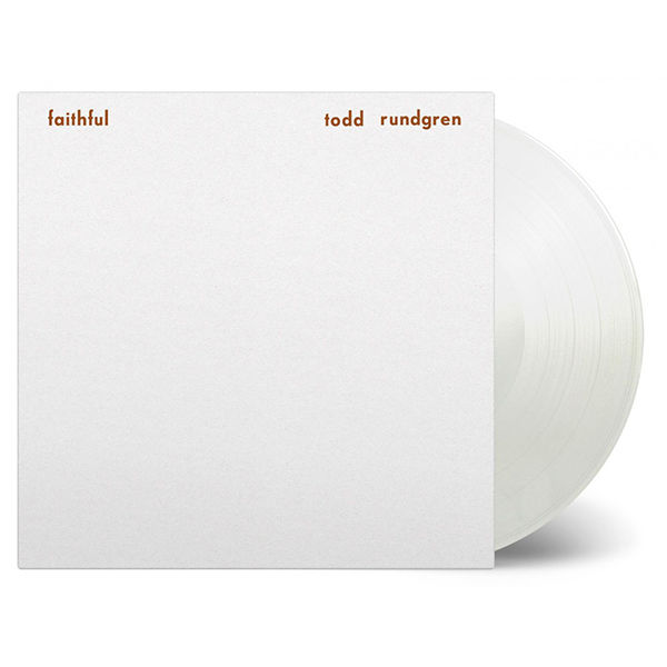 Todd Rundgren: Faithful: Limited Edition White Coloured Vinyl
