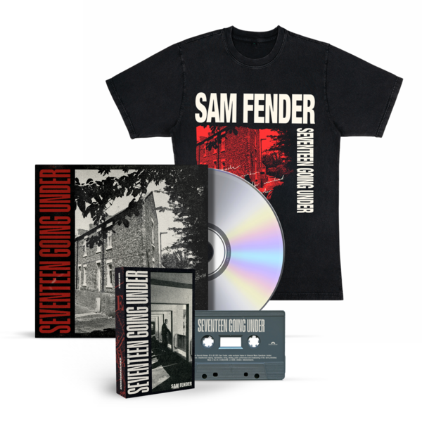 Sam Fender: SEVENTEEN GOING UNDER MUSIC AND CLOBBER BUNDLE