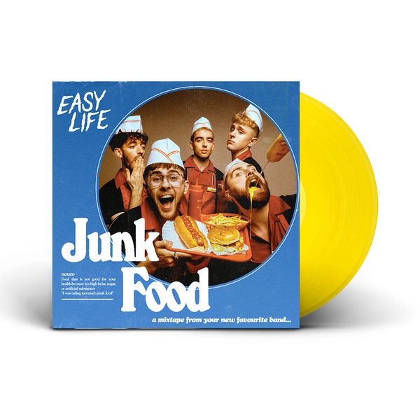 Easy Life: Junk Food EP: Limited Edition Mustard LP