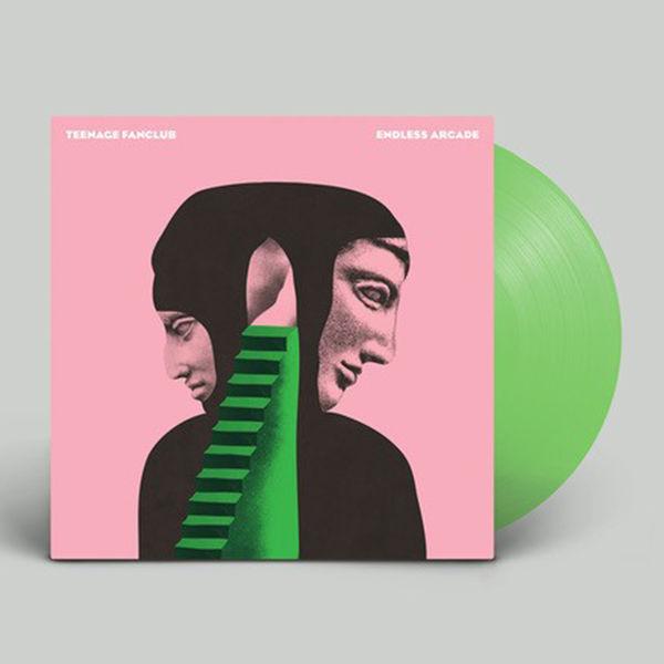 Teenage Fanclub: Endless Arcade: Limited Edition Green Vinyl LP in Die-Cut Sleeve