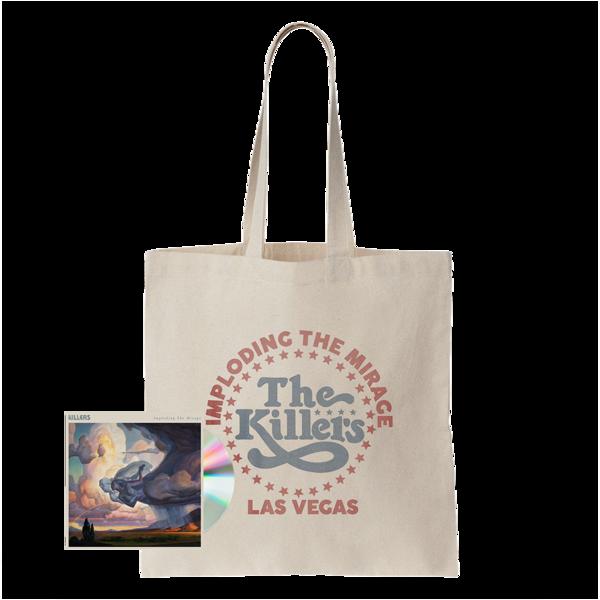 The Killers: ITM STAR LOGO TOTE BAG + CD