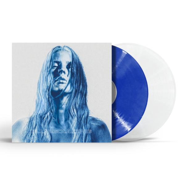 Ellie Goulding: Brightest Blue Cobalt & Clear LP - Vivus Recycled Gatefold Sleeve
