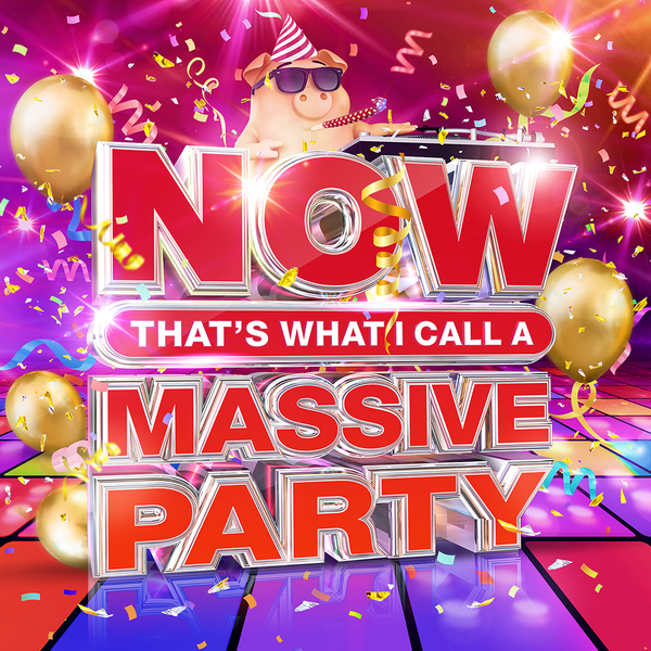 Various Artists: NOW That's What I Call A Massive Party (4CD)