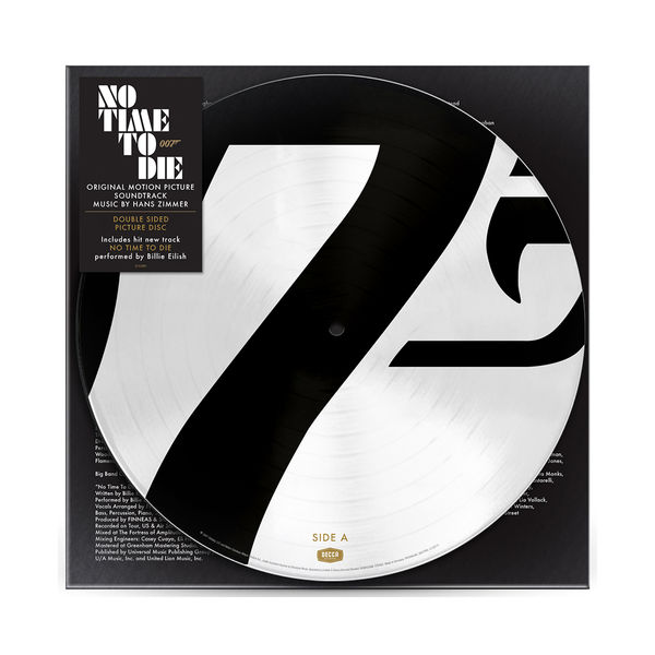Hans Zimmer: No Time To Die: The Sound Of Vinyl Exclusive Picture Disc LP