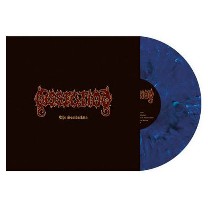 Dissection: Somberlain: Limited Edition Blue, Black and Grey Marbled Vinyl