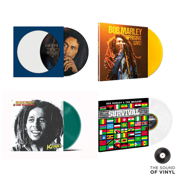 Bob Marley: The Sound Of... Bob Marley: Exclusive Colour Vinyl & Picture Disc Exclusive Bundle