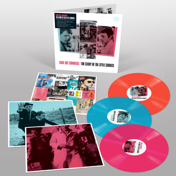 The Style Council: Long Hot Summers: The Story of The Style Council: Exclusive Pink, Light Blue + Orange Vinyl
