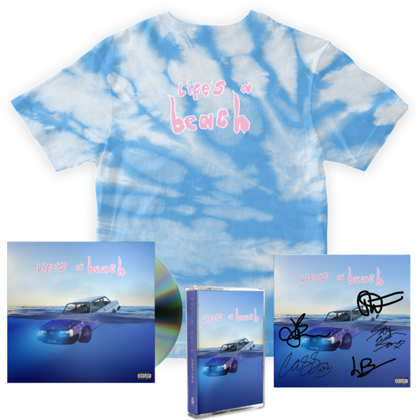 Easy Life: lifes a beach: cassette, cd, tee + signed art card
