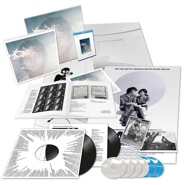 John Lennon: Imagine The Ultimate Collection Complete Fan Bundle (Blu-Ray & Black Vinyl)