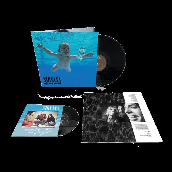 Nirvana: Nevermind: 30th Anniversary Edition Gatefold Vinyl LP + 7