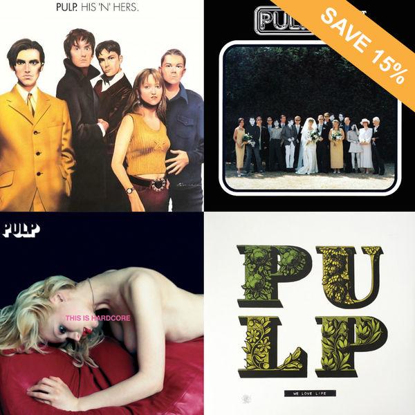 Pulp: Pulp Vinyl Bundle - 15% OFF