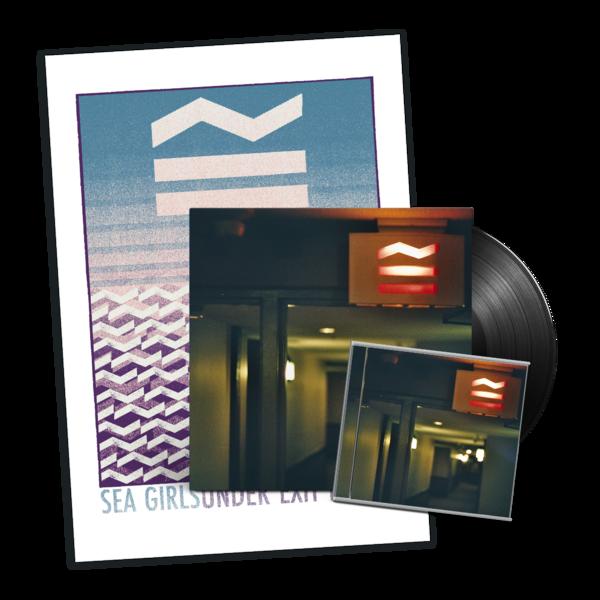 Sea Girls: Under Exit Lights Vinyl, CD + Screen Print