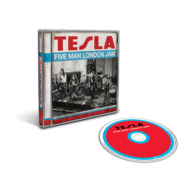 Tesla: Five Man London Jam CD
