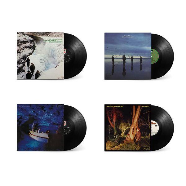 Echo & The Bunnymen: Crocodiles, Ocean Rain, Porcupine & Heaven Up Here: Deluxe Vinyl Reissue Bundle
