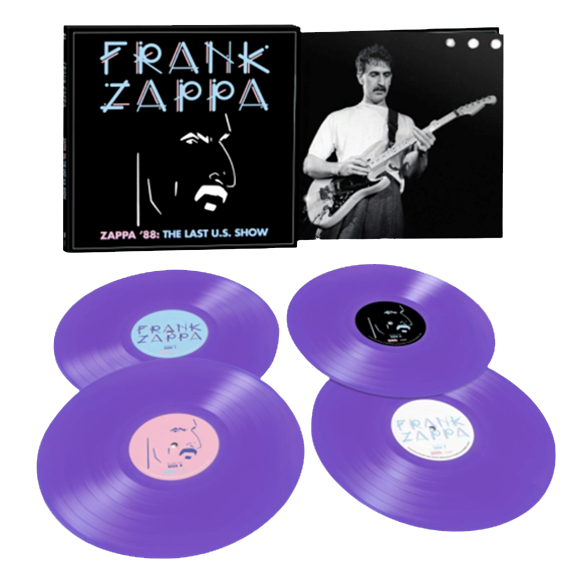 Frank Zappa: Zappa '88: The Last U.S. Show: Exclusive Opaque Purple Vinyl 4LP Set