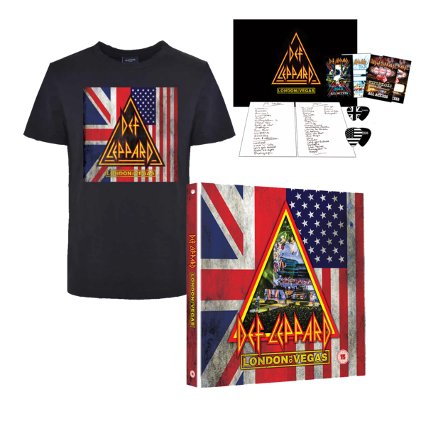 Def Leppard: BLU-RAY BACKSTAGE BUNDLE