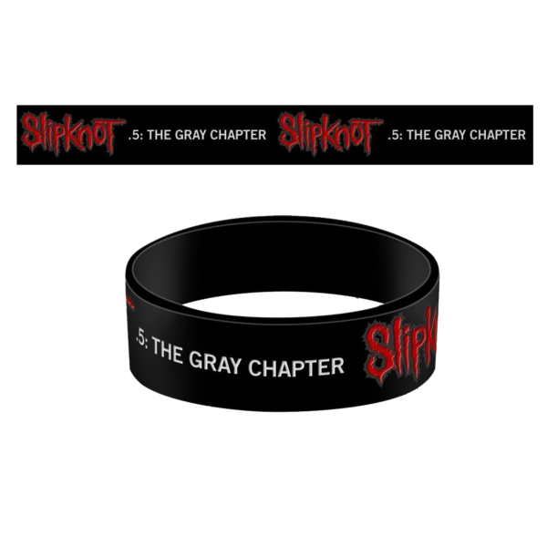 Slipknot: The Gray Chapter Printed Wristband
