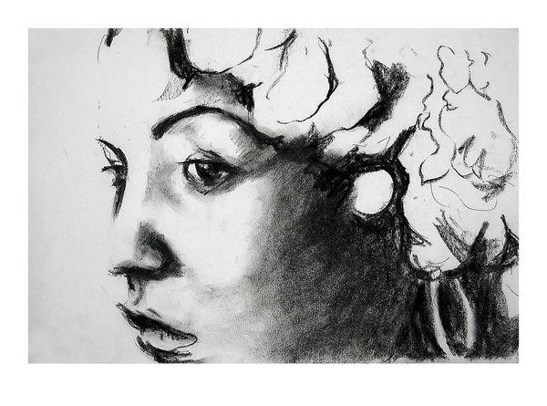 Ronnie Wood: Billie Holiday Art Print