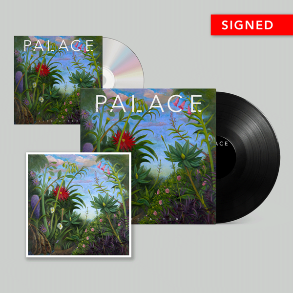 Palace: Vinyl, CD & Signed Print