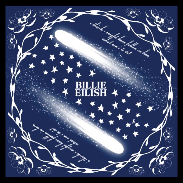 Billie Eilish: Halley's Comet Bandana