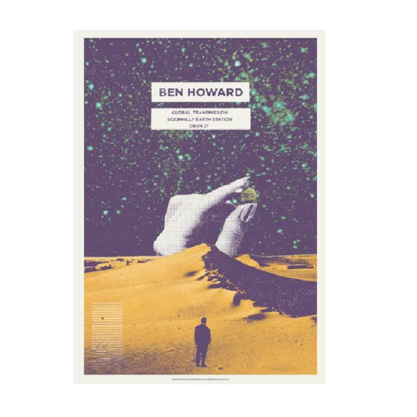 Ben Howard: Goonhilly Numbered A2 Litho Print