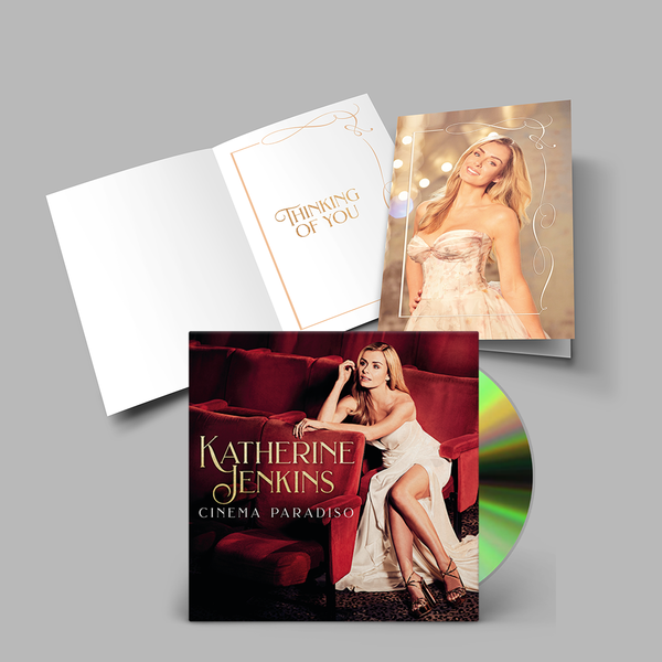 Katherine Jenkins: Katherine Jenkins CD & Greetings Card Bundle (English)