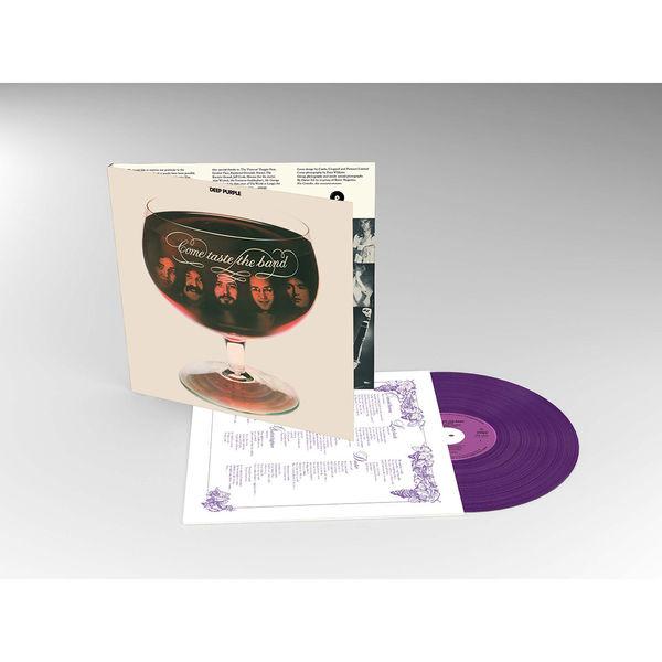 Deep Purple: Come Taste The Band (Purple Coloured Vinyl)
