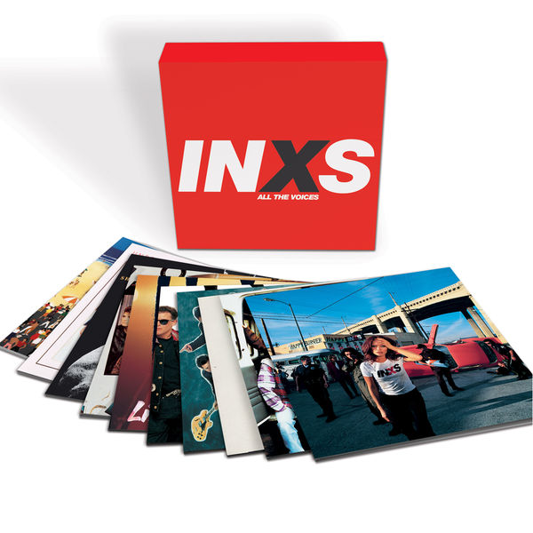 INXS: All The Voices: 10 LP Boxset