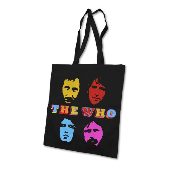 The Who: Four Faces Tote Bag