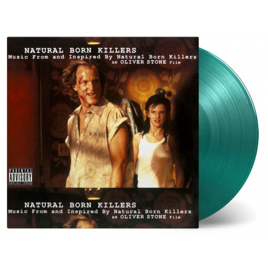 Various Artists: Natural Born Killers Soundtrack Coloured Vinyl LP