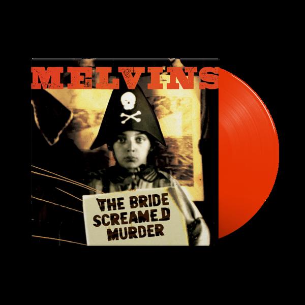 Melvins: The Bride Screamed Murder: Limited Edition Apple Red Vinyl LP