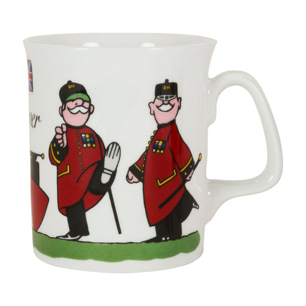 Colin Thackery : Official Royal Hospital Chelsea China Mug