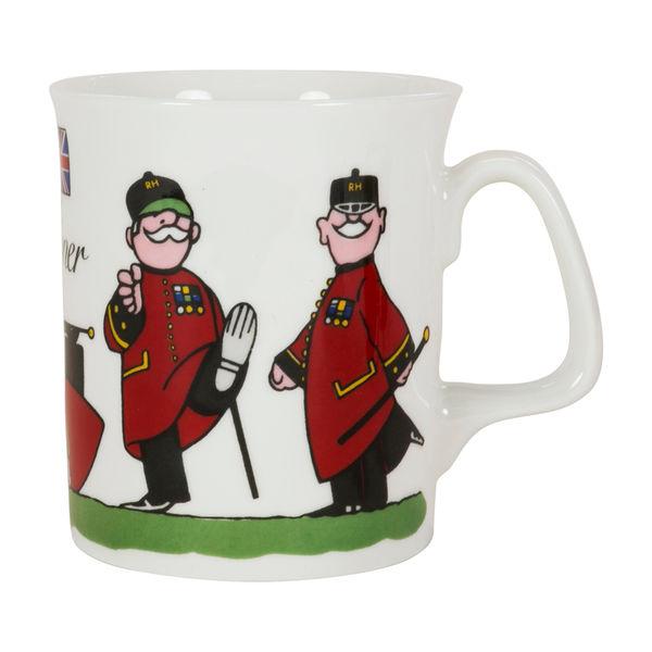 Colin Thackery : Official Royal Hospital Chelsea China Mug