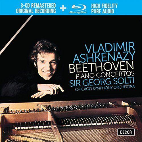 Vladimir Ashkenazy: Beethoven: Piano Concertos Nos. 1-5