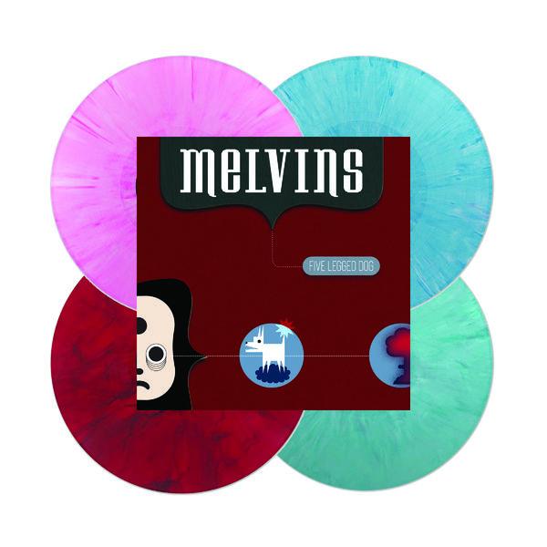 Melvins: Five Legged Dog: Limited Edition 4LP Colour Vinyl