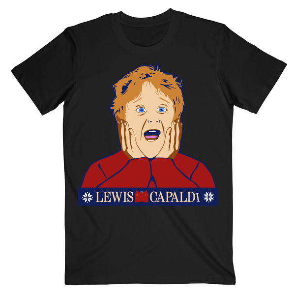 Lewis Capaldi: Limited Edition Lewis Christmas Tee