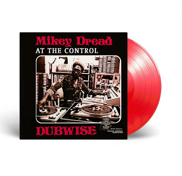 Mikey Dread: At The Control Dubwise Limited Edition Red Vinyl