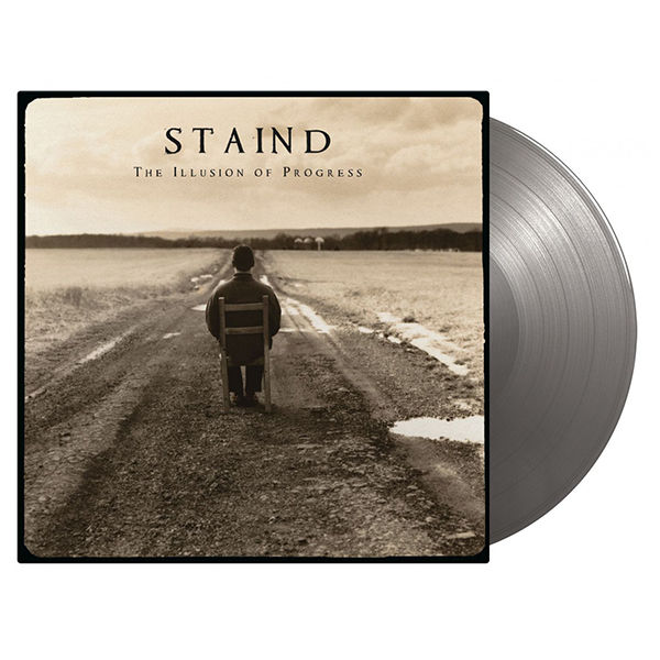 Staind: The Illusion of Progress: Limited Edition Gatefold Silver Vinyl