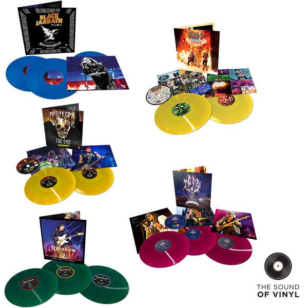 Kiss: The Sound Of... Eagle Rock: Deluxe Colour Vinyl Exclusive Bundle