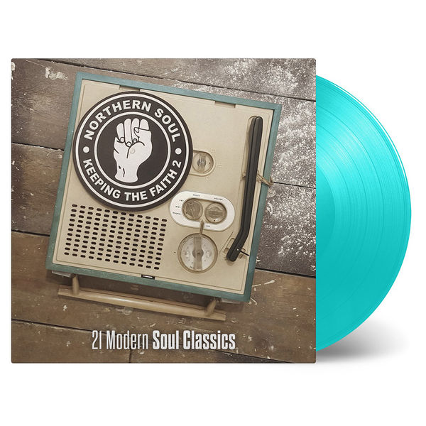 Various Artists: Keeping The Faith 2: Turquoise Coloured Double Vinyl