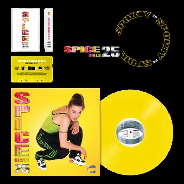 Spice Girls: Sporty Spice: Vinyl, Cassette and Slipmat