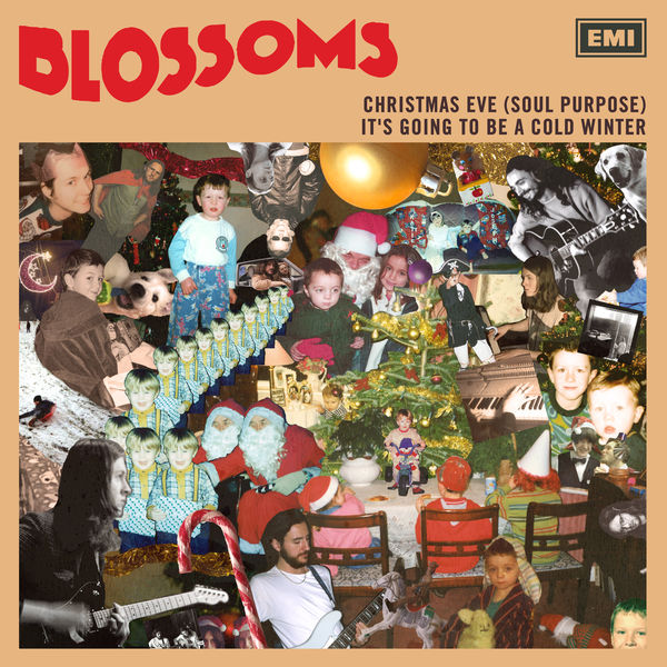 "Blossoms: Christmas Eve (Soul Purpose) / It's Going To Be A Cold Winter 7"" Vinyl"