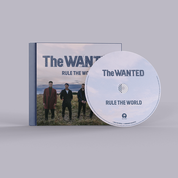 The Wanted: Rule The World: Signed CD Single