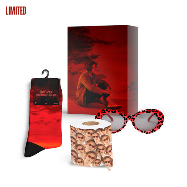 Lewis Capaldi: Ultimate Big Fat Sexy Jungle Cat CD box + Calendar + Lew Roll + Socks