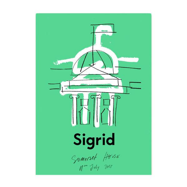 Sigrid: Somerset House Poster