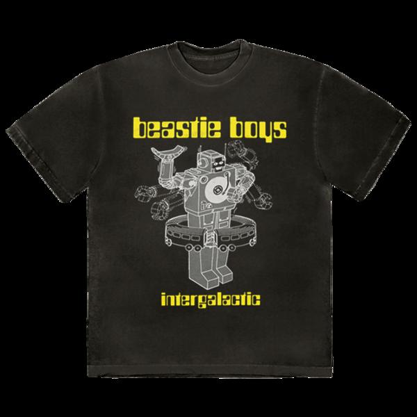 Beastie Boys: BLACK INTERGALACTIC T-SHIRT