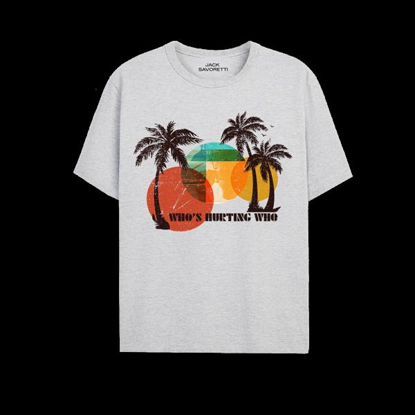 Jack Savoretti: Who's Hurting Who Grey Palm T-Shirt